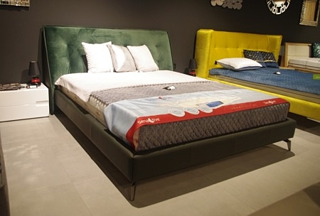 łóżko nicole 2 zielone