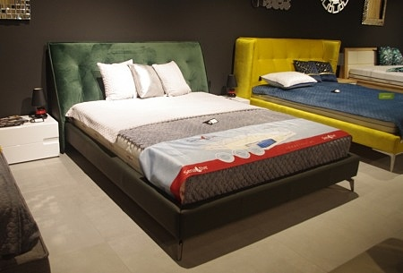 łóżko zielone nicole 2