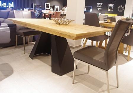 Stół A4 rozkładany czarne nogi
