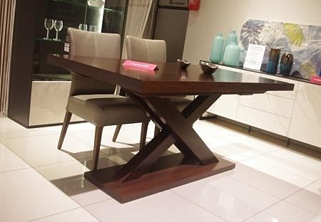 Stół tytus rozkładany brązowy