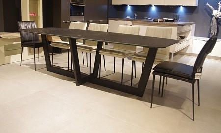 Amari czarny stół speiki kwarcowe stoły ławy