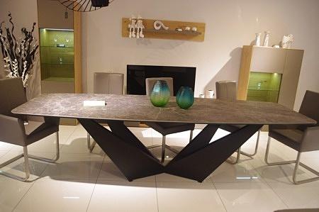 stół clif na nogach metalowych industrialny metalowe nogi