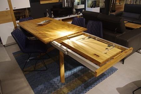 Stół do salonu dębowy rozkładany