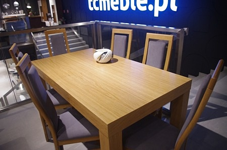 Stół mezzo dębowy jasny