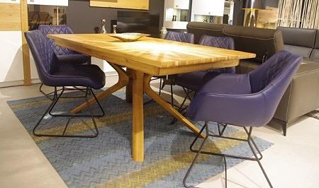 Stół moreno rozkładany dębowy