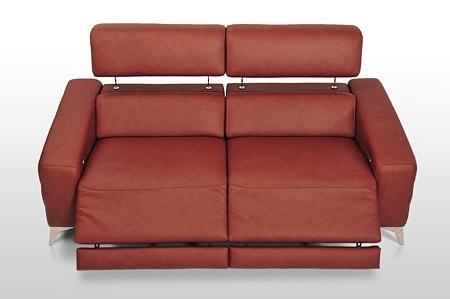 Kanapa z funkcją relax wygodne siedziska elegancki wygląd nowoczesna forma