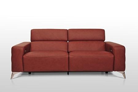 Sofa 2-os i 3-os na wysokich metalowych nóżkach wykonana na zamówienie dobrodzień
