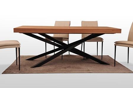 Stół rozkładany do jadalni salonu prostokatny naturalna okleina