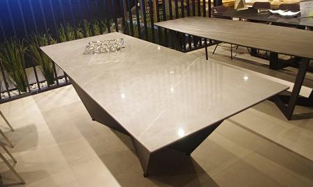 Blat do stołu spiek kwarcowy Pietra Grey połysk