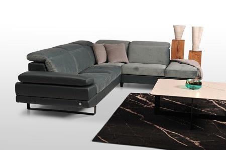 Ekskluzywny komplet wypoczynkowy meble tapicerowane na wymiar wygodne pianka wysokoelastyczna