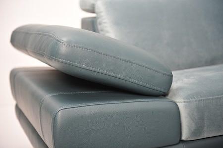 Goya narożnik różne wymiary siedzisk na zamówienie tapicerowane meble z Dobrodzienia producent tc meble ocean