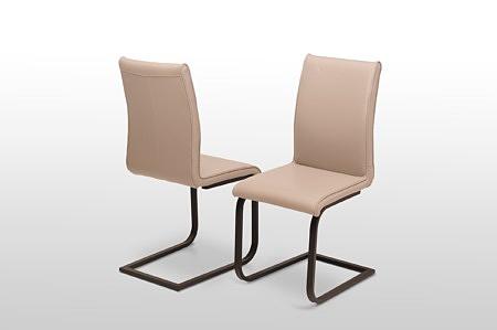 krzesła na metalowych czarnych nogach lub wykonanych ze stali nierdzewnej stabilne i wygodne