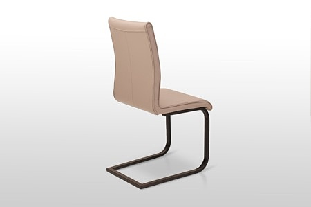 krzesło nuvola na zamóienie z materiału z technologią aquaclean lub z włoskiej grubej skóry
