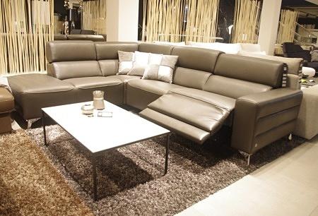 Loft wysokie nogi wypoczynek sofa do salonu