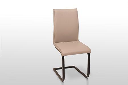 Nowoczesne eleganckie krzesło do jadalni na zamówienie w dowolnej kolorystyce na metalowych nogach