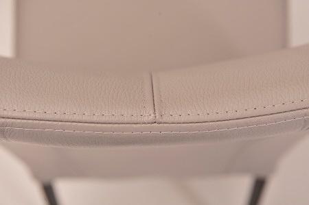 Oparcie krzesła skóa szara lub dużo kolorów na zamówienie wygodne stabilne mocne krzesełka krzesełko tcmeble.pl