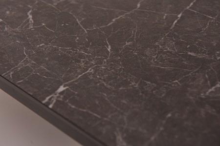 Piękny blat stolik ława nero greco matowy nowoczesny design