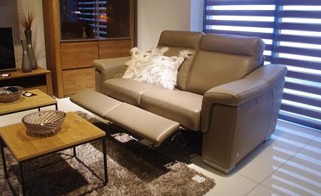 Sofa 2-os z dwoma relaxami tc meble dobrodzień