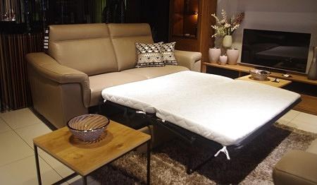 Sofa bolero z funkcją spania do salonu