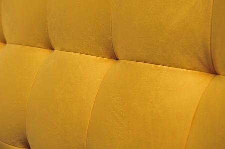 Wezgłowie przeszyte pikowne piękne łóżko nowoczesna sypialnia wygodne