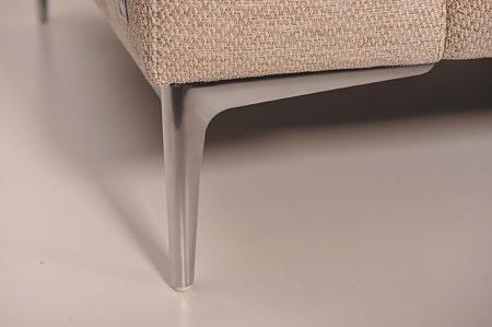 Wypoczynek na wysokich nóżkach metalowyc wizytowy elegancki tc meble dobrodzień na zamówienie markowy
