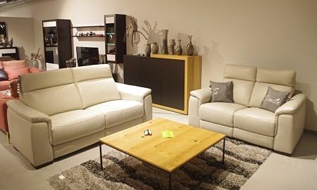Wyprzedaż zestaw sof z relaxami