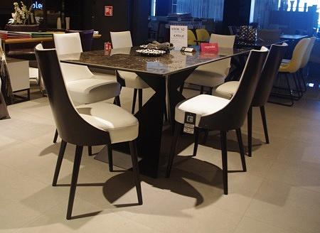Nowoczesne krzesła Lethendy