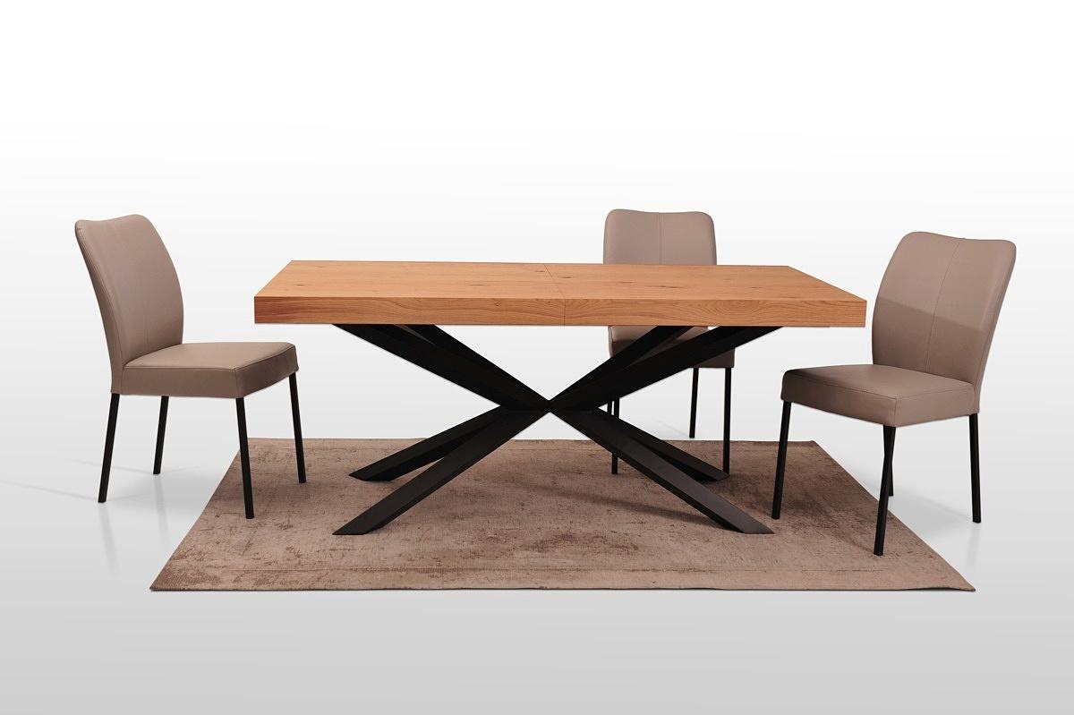 A8 stol na metalowych nogach malowanych proszkowo polski producent z dobrodzienia meble na wymiar 1
