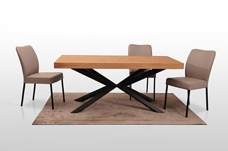 A8 stół na metalowych nogach malowanych proszkowo polski producent z Dobrodzienia meble na wymiar 1