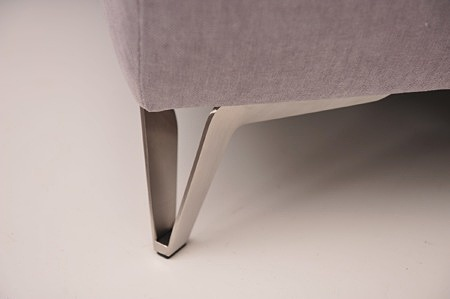 Ładna noga kanapy aviva ii nierdzewka wysoka