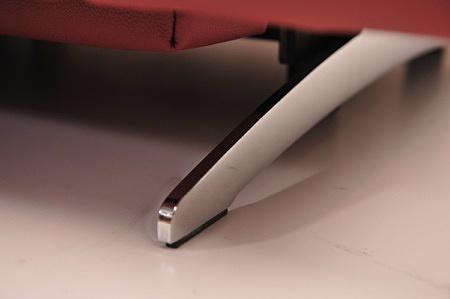 Metalowa podstawa płoza elegancja chrom czarny relax elektryczny rozkładanie na wymiar tapicerowane Dobrodzień