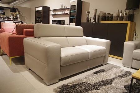 Sofa giano z podnoszonymi zagłówkami