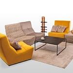 Sofy i fotel modylowe kolorówe tc meble