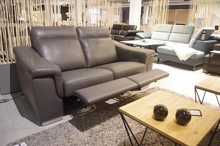 Sofa z dwoma relaxami