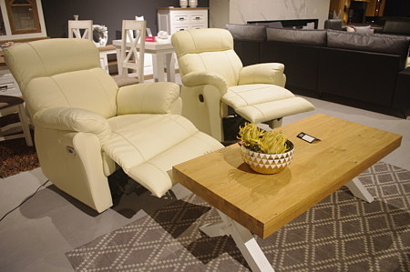 Fotele stylowe relax 3 do salonu