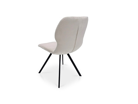 Gustowne krzesła z zamkiem na plecach
