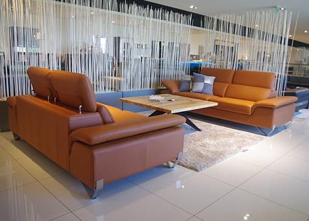 Komplet wypoczynkowy loftowy do salonu