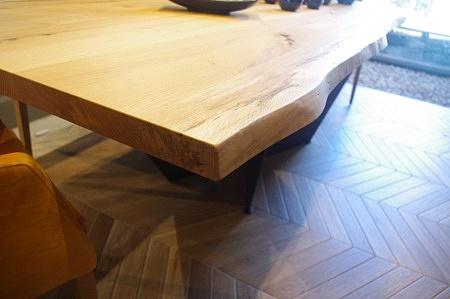 Krawędź stołu z naturalną krawędzią TC MEBLE