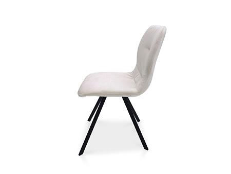 Krzesełko do nowoczesnej jadalni z przeszyciem