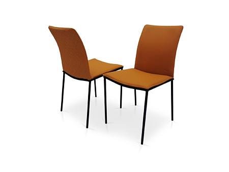 Krzesła brązowa skóra naturalna polski producent mebli tapicerowanych dobrodzień