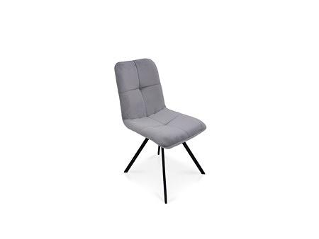 Krzesło do pokoju jadalnego na mocnej metalowej nodze od producenta