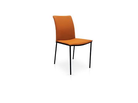 Krzesło fantasy producent tcmeble.pl w brązowej skórze