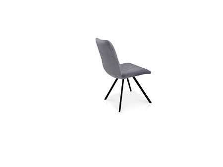Krzesło koloru szarego do nowego salonu