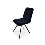 Krzesło na czarnych nóżkach w dowolnych tkaninach