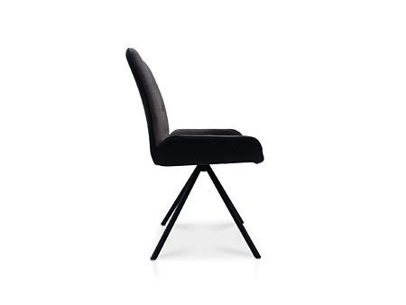 Krzesło z boczkami wykonane ze skóry i tkaniany odpornej na zabrudzenia