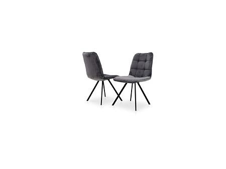 Krzesło z przeszyciami dobrze wyprofilowane