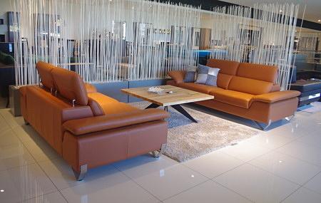 Loft zestaw sof do loftowego salonu