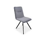 Nowoczesne krzesło z przeszyciem na oparciu producent mebli tapicerowanych dobrodzień