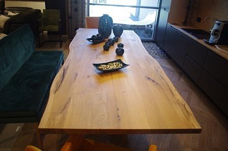 Nowoczesny stół dębowy do salonu