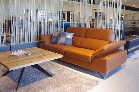 Sofa z regulowanymi zagłówkami meble dobrodzień